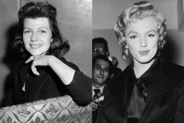 Marilyn Monroe y Rita Hayworth