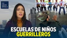 Guerrillas colombianas adoctrinan a niños venezolanos en las escuelas