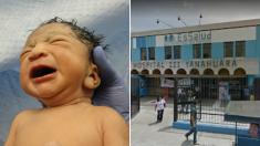 Padre denuncia a un médico por cortar la cara de su recién nacida con el bisturí durante la cesárea