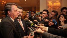Presidente Jair Bolsonaro chega a Brasília após visita a cinco países