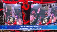 Simpatizantes de Hong Kong inundan juegos de la NBA en nueva temporada