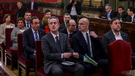 Tribunal español condena hasta 13 años de cárcel por sedición a líderes del 'procés' independentista