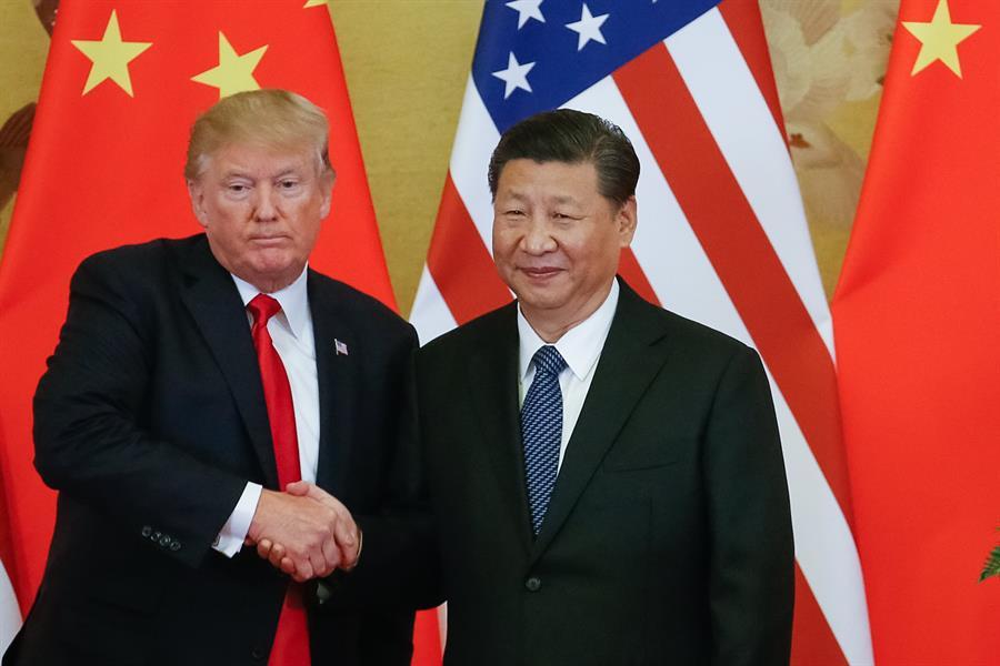 Trump afirma que 1ª fase do acordo comercial com a China será assinado dia 15