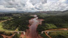 Rotura de una represa minera deja aislado a un pueblo en Brasil