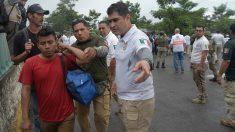 México disuelve la caravana migrante que había salido con 2000 personas de Chiapas