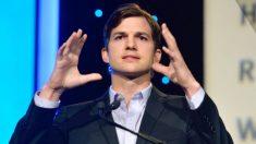 Ashton Kutcher ha estado ocupado luchando contra el tráfico sexual de personas, ayudando a salvar vidas