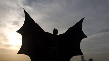 Criatura con cuerpo humano y cabeza de murciélago, ¿el Batman de la cultura maya?