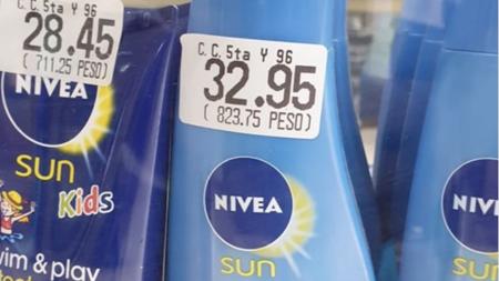 """""""Qué triste ver tu sueldo plasmado en una botella de protector solar"""", dice cubano visitando La Habana"""