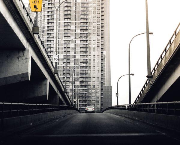 puente vehicular, accidente