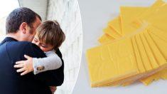 """Extraño desafío del """"Cheesed Challenge"""" hace que los papás le tiren queso en la cara a sus bebés"""
