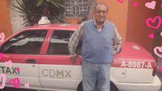 """Joven mexicana promociona a su papá taxista y a las redes le encantó: """"limpio, seguro y garantizado"""""""