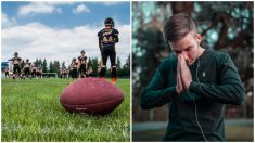 Entrenador es despedido por arrodillarse a rezar en el campo luego de cada partido