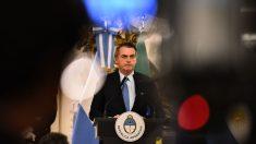 """Bolsonaro dice que no facilitará a la izquierda """"formar una gran patria bolivariana"""""""