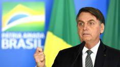 """Bolsonaro no renueva contrato a TV """"totalmente de izquierda"""" que """"nadie ve"""""""
