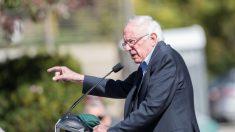 Bernie Sanders recibe de urgencia 2 estent tras sufrir dolor de pecho en un acto de campaña