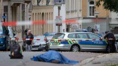 Alemania: 2 muertos en ataque con granada y ametralladora en la Sinagoga de Halle y alrededores