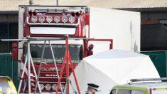 Hallan en Inglaterra 39 cadáveres en camión frigorífico probables víctimas de mafias de inmigración