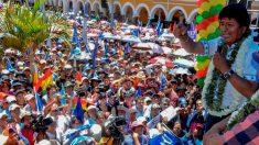 """Morales dice que su victoria """"es constitucional"""" frente a denuncias de fraude"""