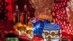 México: examinan 42 cráneos y restos óseos de un altar de santería que ocultaba armas y narcotráfico