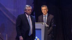 Macri y Fernández marcan diferencias frente a la crisis en Venezuela durante debate presidencial argentino