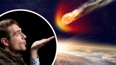 """Mexicanos se preparan para """"soplarle"""" bien fuerte al meteorito que está próximo a la Tierra"""