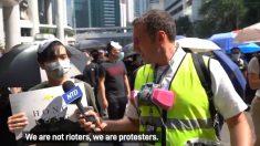 En medio de la violencia en Hong Kong, los periodistas del Epoch Media Group reportan la verdad