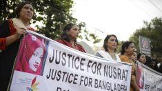 16 pessoas são condenadas à morte por assassinato de garota de 18 anos em Bangladesh