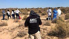 Encuentran al menos 42 cuerpos en una fosa común al sur de la frontera de Arizona, dice informe