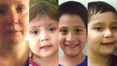 Tres niños desaparecidos de Misuri en 2017 son encontrados con su madre en Texas