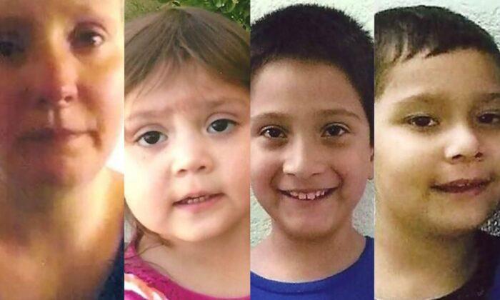 Tres niños desaparecidos de Missouri han sido encontrados en Texas con su madre dos años después. (Centro Nacional para Niños Desaparecidos y Explotados)