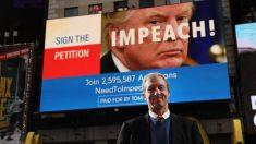 Grupos de izquierda buscan vender juicio político contra Trump al público estadounidense