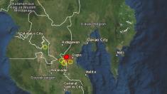 Terremoto en Filipinas de 6,6 grados con fuertes réplicas deja al menos 2 muertos y numerosos heridos