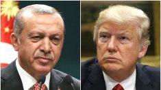 Trump firma una orden ejecutiva para imponer sanciones y prohibiciones de visa en Turquía