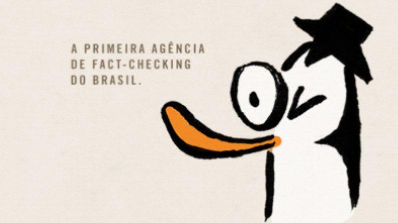 Logomarca da Agência Lupa de checagem de fatos (Reprodução)