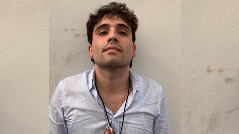 """Ovidio Guzmán, hijo del narcotraficante Joaquín """"El Chapo"""" Guzmán. EFE/ STR"""