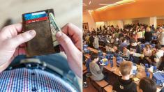 Un hombre pagó la deuda del almuerzo escolar de 400 estudiantes, liquidando la deuda de su pueblo