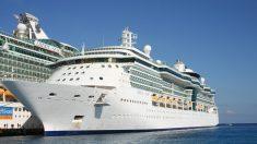 Mujer terminó expulsada de un crucero por subirse a una barandilla para tomarse una foto