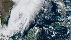 Nueva tormenta tropical en formación en el Golfo de México se aproxima a Mississippi