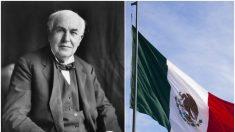 ¿Thomas Edison era mexicano? Misteriosa placa pone en duda el origen del máximo inventor del siglo XX