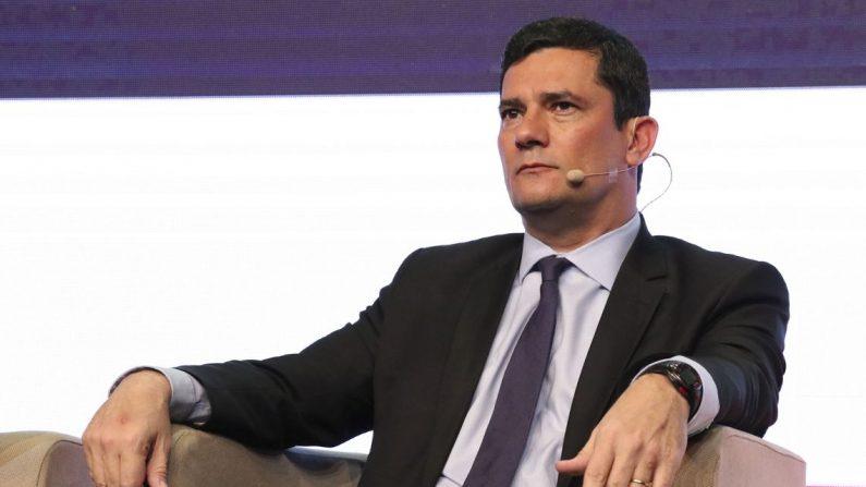 O Ministro da Justiça, Sergio Moro, participa do fórum Brazil Summit 2019, promovido pela revista britânica The Economist (Rovena Rosa/Agência Brasil)