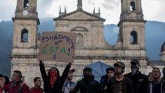 Milhares de estudantes vão às ruas na Colômbia protestar contra governo