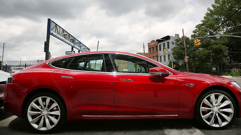 Tesla Modelo S. (Getty Images/  Spencer Platt)