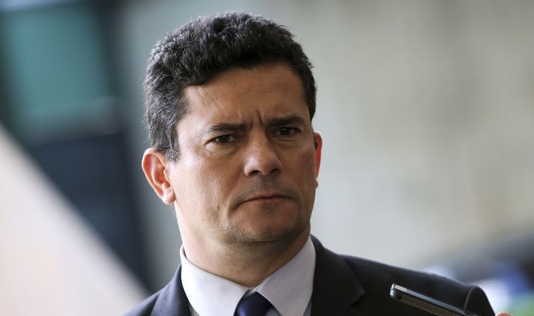 Ministro da Justiça e Segurança Pública, Sérgio Moro (Marcelo Camargo/Agência Brasil)