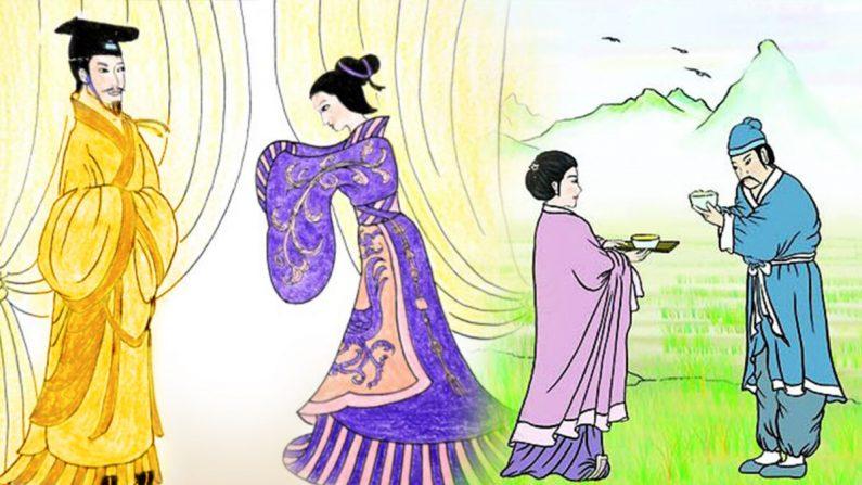 Ilustración de la Antigua Cultura China (Crédito: La Gran Época)