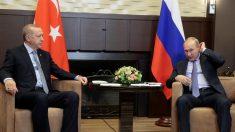 Putin e Erdogan acertam criação de zona de segurança no nordeste da Síria