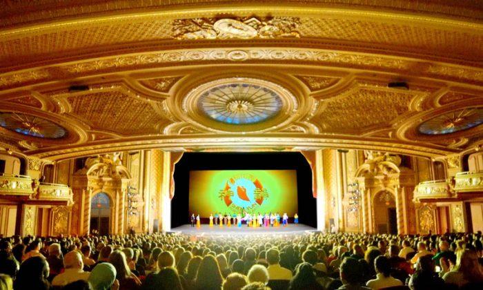 Shen Yun Performing Arts durante su presentación en el Teatro Boch en Boston, Massachusetts, el 25 de enero de 2019. (NTD Television)