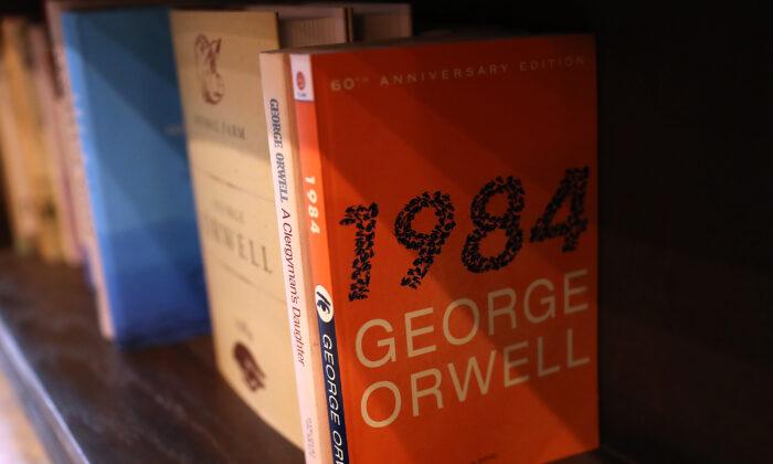 """""""1984,"""" un libro que todo estudiante de secundaria debería leer. (Justin Sullivan/Getty Images)"""