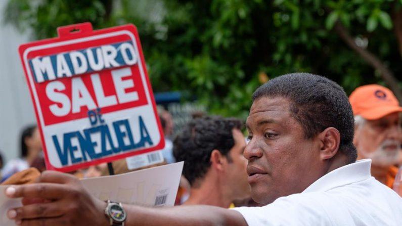 José Antonio Colina, un exmilitar venezolano que preside la organización Venezolanos Perseguidos Políticos en el Exilio (VEPPEX). (Foto: EFE)
