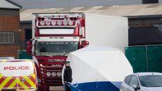 Declaran culpables a dos hombres por la muerte de 39 migrantes en un camión en Reino Unido