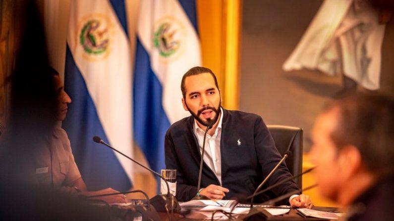 Presidente de El Salvador, Nayib Bukele. (Presidencia de El Salvador)